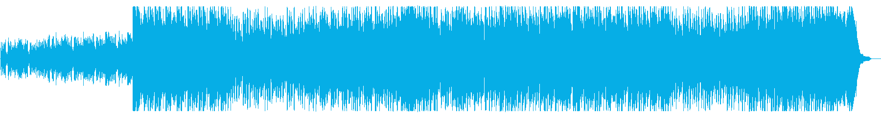 疾走感あるオープニング向きオーケストラ曲の再生済みの波形