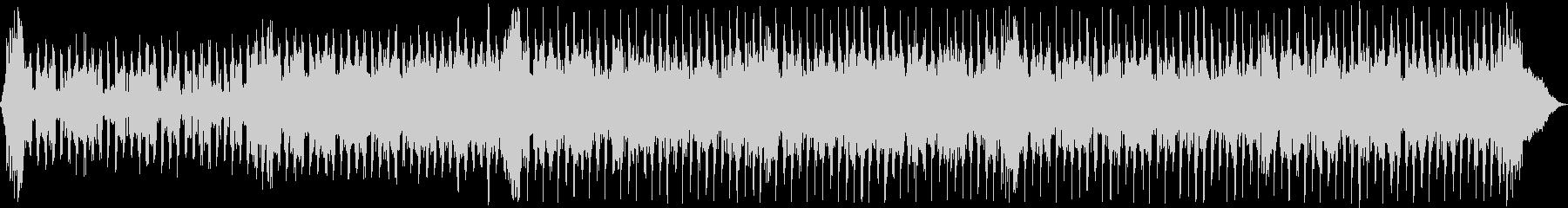 怪物エレキギターソングの未再生の波形