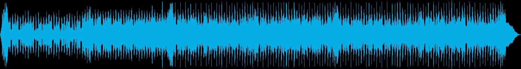 怪物エレキギターソングの再生済みの波形