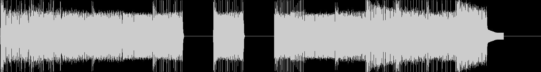 レトロゲームなチップチューンジングル14の未再生の波形