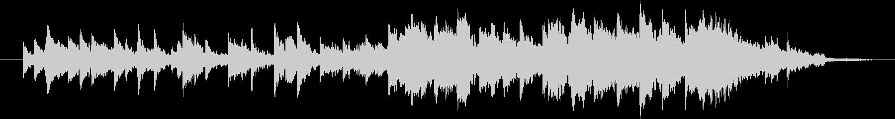 ピアノとストリングスとヴィブラフォンの未再生の波形