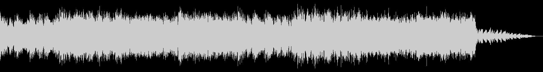 ディープなエレクトロニカ・ハウスの未再生の波形