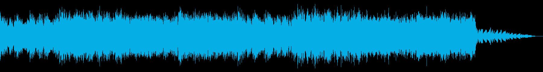 ディープなエレクトロニカ・ハウスの再生済みの波形
