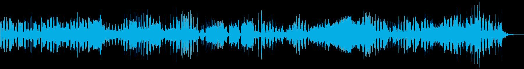 かわいい映像・リコーダー(1コーラス)の再生済みの波形