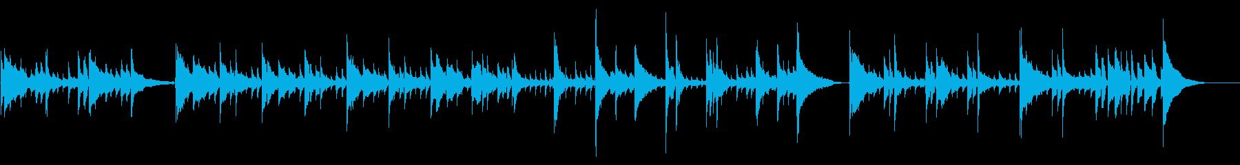 アコギ16/爽やか、重ね録り、生音の再生済みの波形