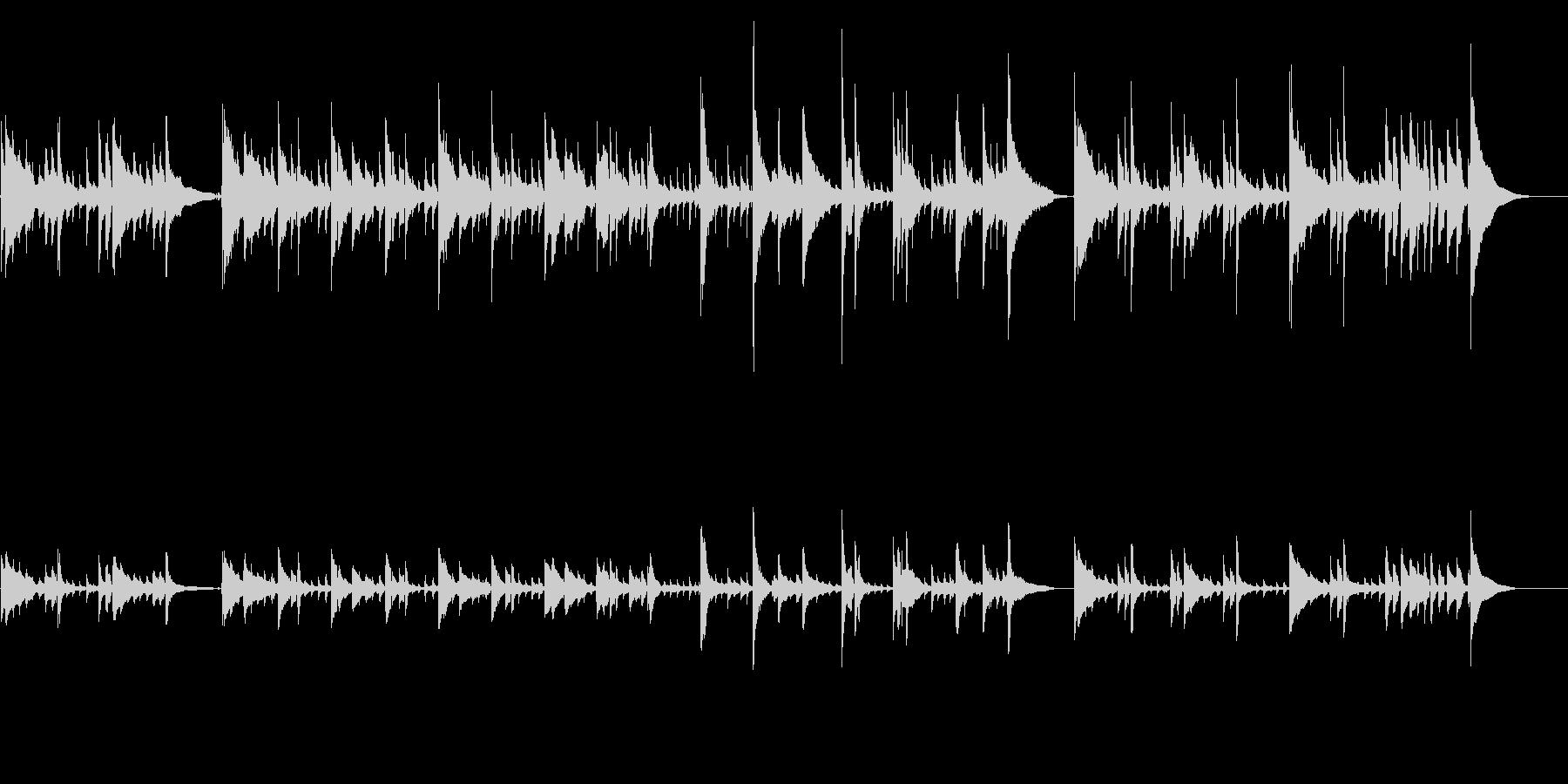 アコギ16/爽やか、重ね録り、生音の未再生の波形
