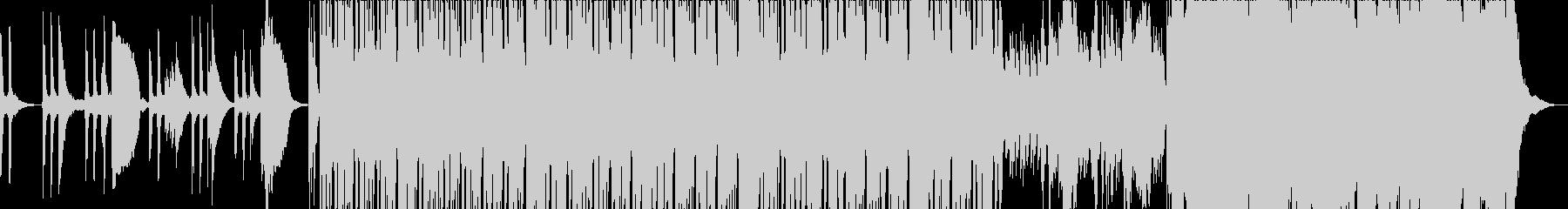 上品で透明感のあるラテン曲の未再生の波形