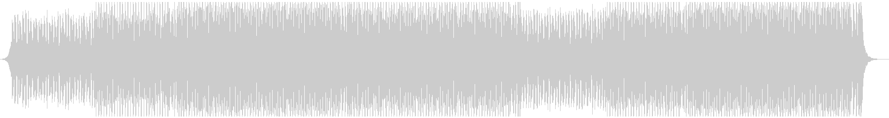 サマーポップの未再生の波形