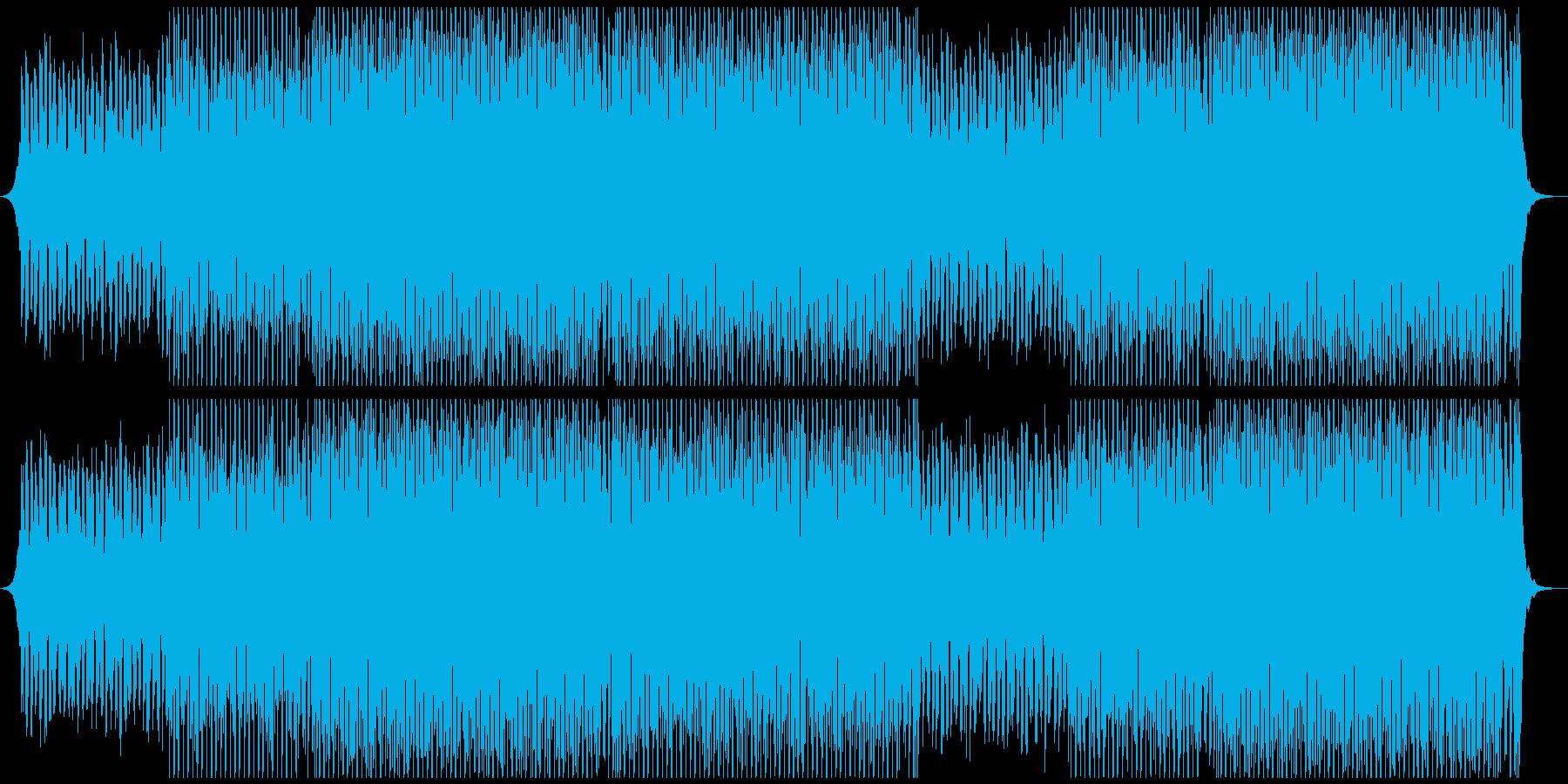 サマーポップの再生済みの波形