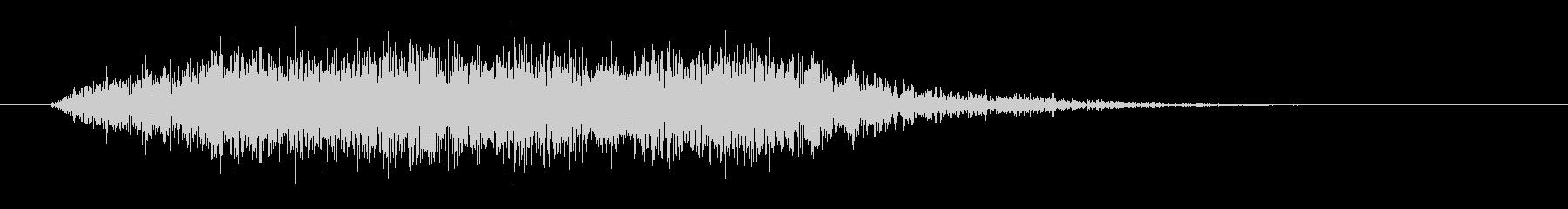 ホラーな低音コーラス ブラス 恐怖の場面の未再生の波形