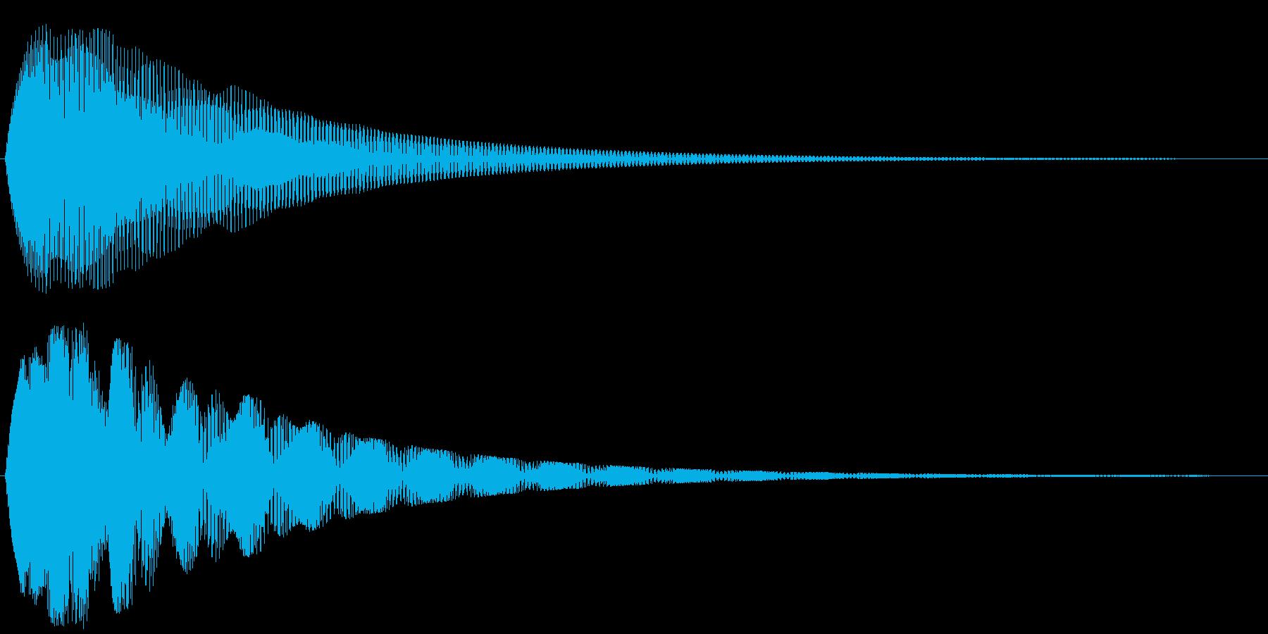 クゥワァーンの再生済みの波形