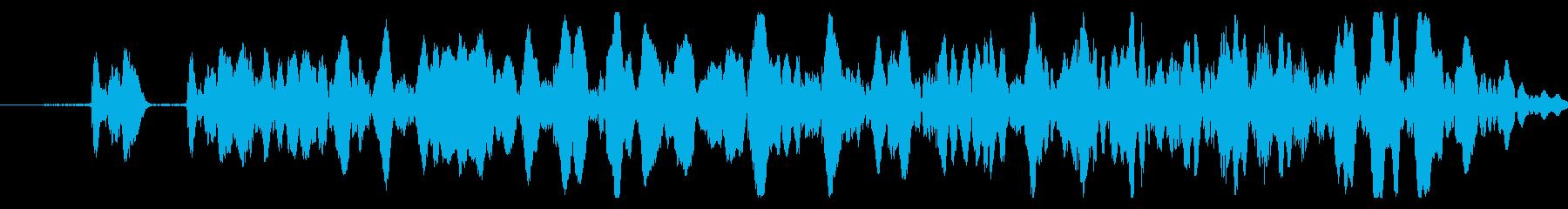 エラー/キャンセル/閉じる/戻る/04の再生済みの波形