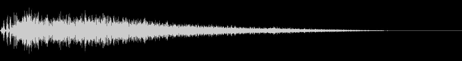 激しい魔法攻撃音 (爆発・必殺技)の未再生の波形