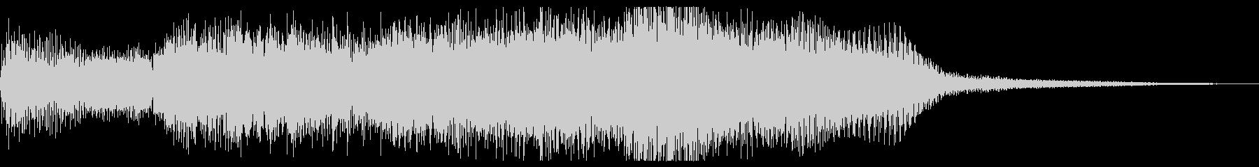 暗いファンタジー、魔法的なジングルの未再生の波形