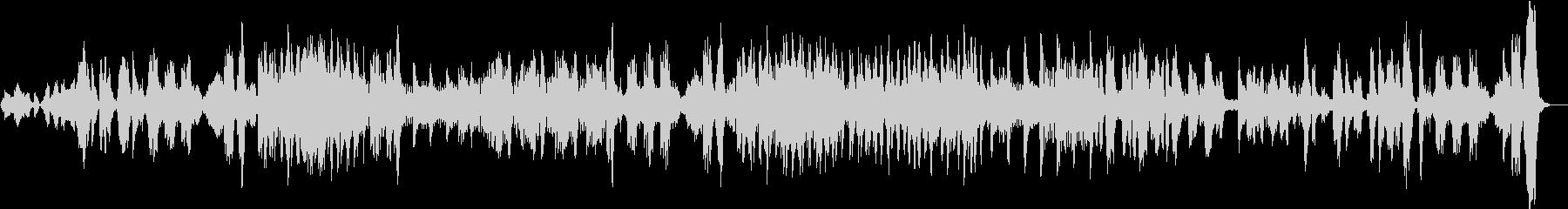 スピカートを多用した、リズミカルな曲。の未再生の波形
