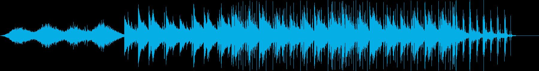 幻想的なピアノとのジャズセッションの再生済みの波形