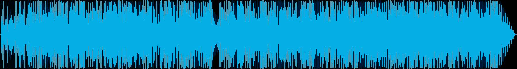 オーソドックスなフュージョンの再生済みの波形