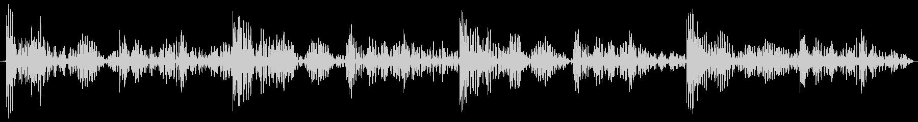 ドンドコ 太鼓のリズム ループ用の未再生の波形
