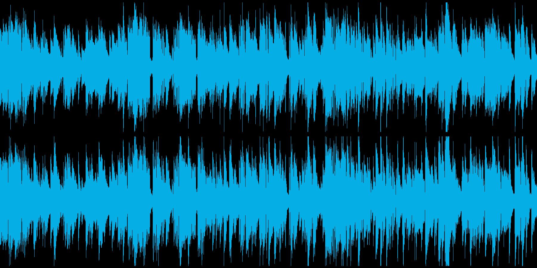 バーで酔い潰れる、渋いジャズ ※ループ版の再生済みの波形