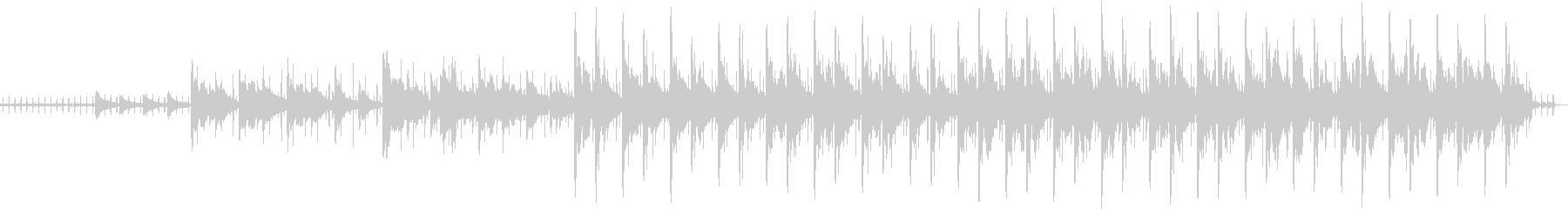 シタールのオリエンタルテイストポップスの未再生の波形