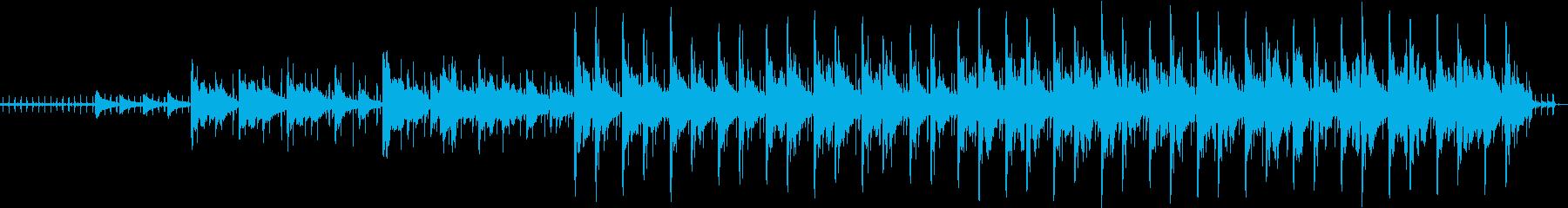 シタールのオリエンタルテイストポップスの再生済みの波形