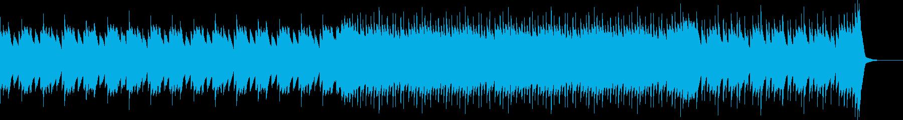 静かで穏やかなピアノジングルの再生済みの波形