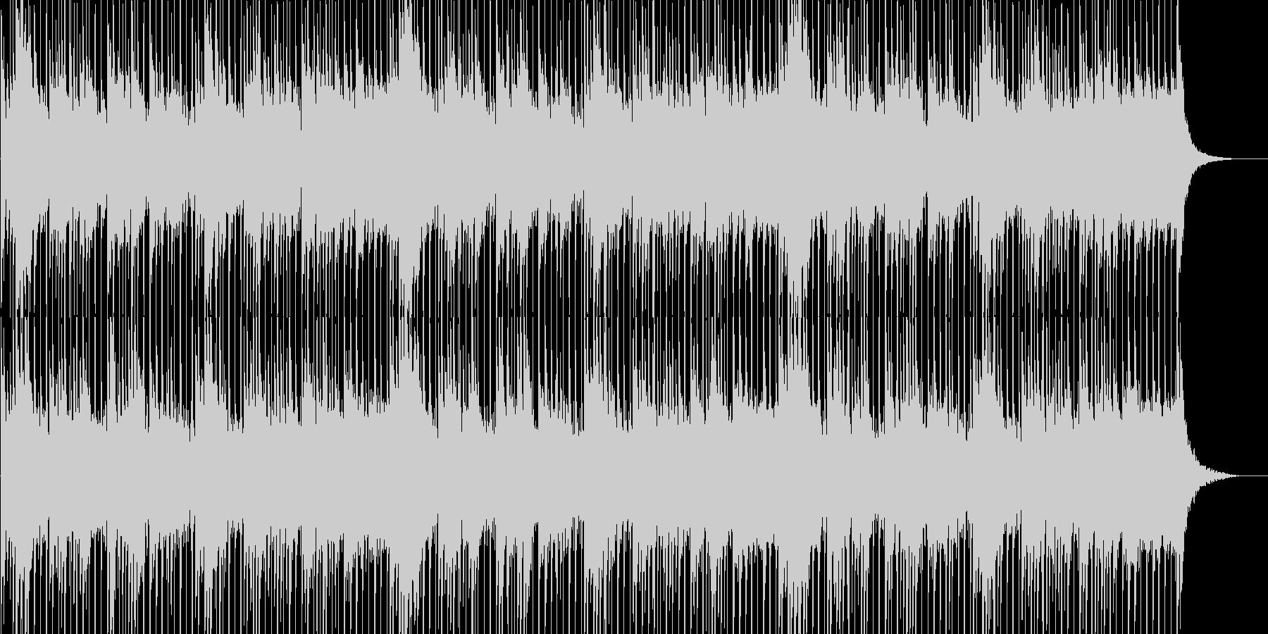 透明感&前向き&感動的なギター(ループ)の未再生の波形