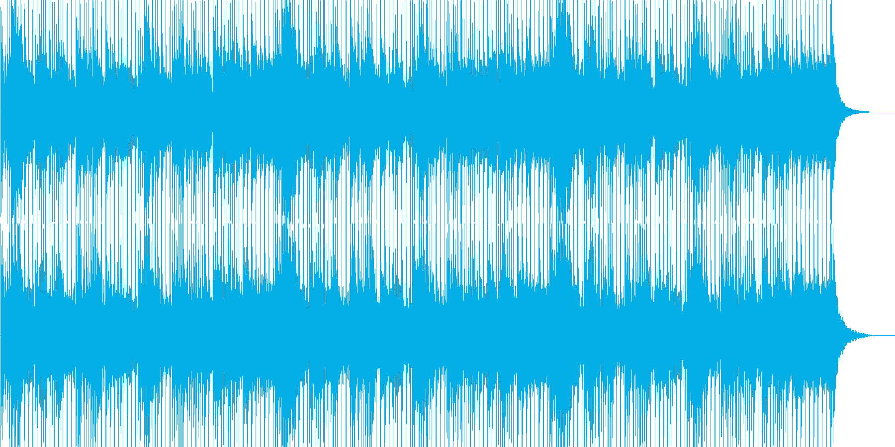 透明感&前向き&感動的なギター(ループ)の再生済みの波形