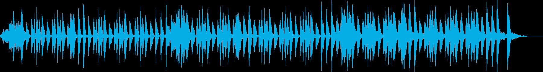 明るい曲 バイオリン/アップテンポの再生済みの波形