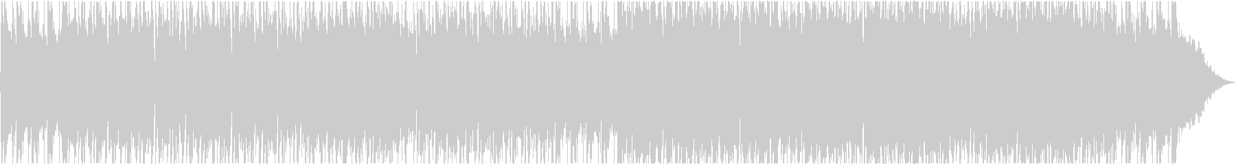 クールなウエスタンミュージックの未再生の波形