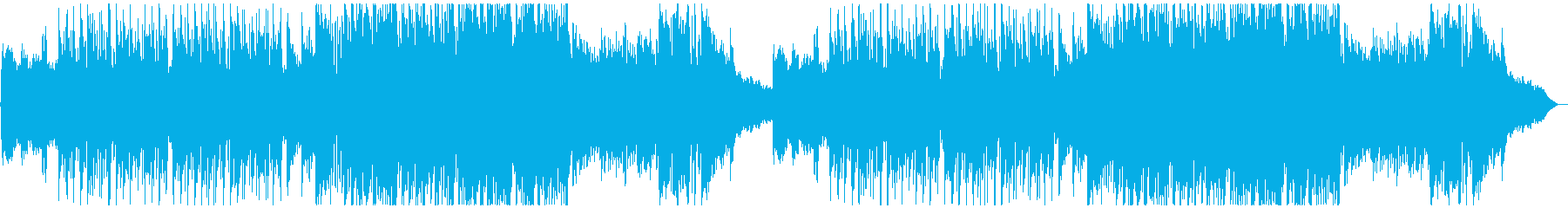 怪しいメルヘン造語歌の再生済みの波形