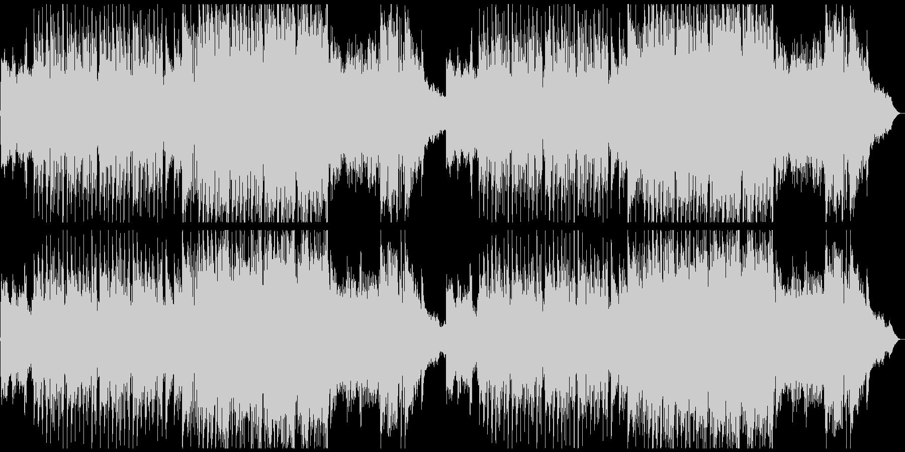 怪しいメルヘン造語歌の未再生の波形