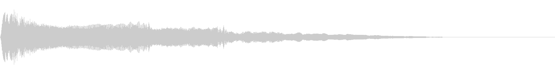 尺八三重奏による和風ジングル03の未再生の波形