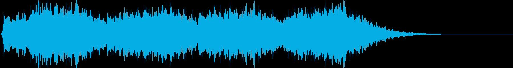 宇宙的なジングルサウンド。の再生済みの波形