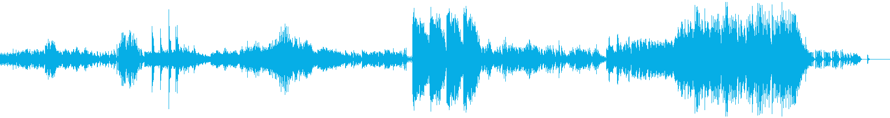 ドビュッシー ベルガマスク2 メヌエットの再生済みの波形