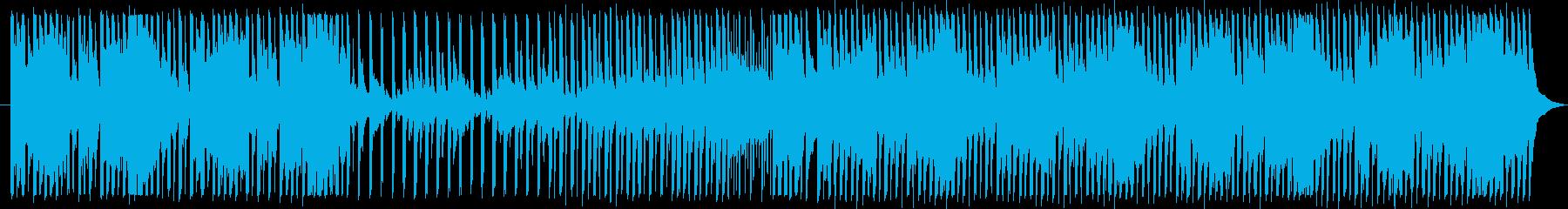 ポップでカワイイ・バラエティ番組BGMの再生済みの波形