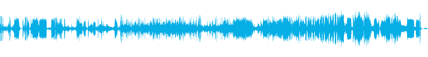 破壊マシングリッチ散発的なアクショ...の再生済みの波形