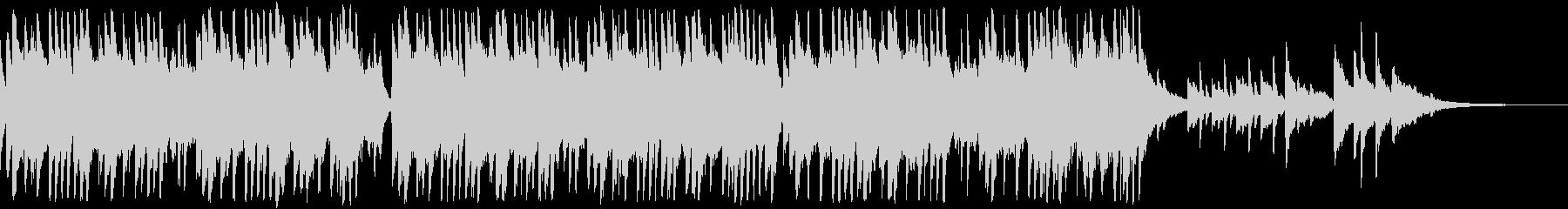 感動的な琴とストリングスの和風バラードaの未再生の波形