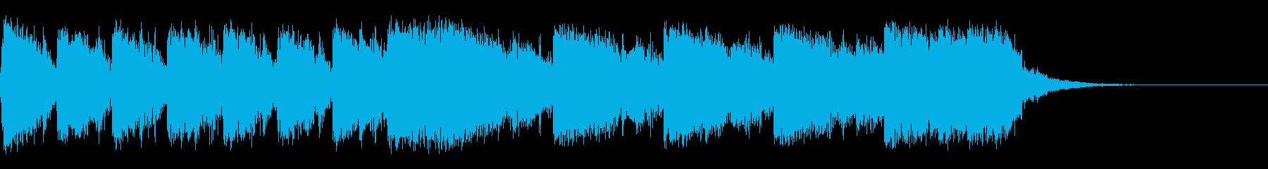 恐ろしい、パワフル、追跡の再生済みの波形