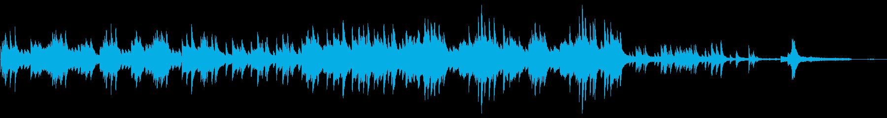 企業VP クリーンで爽やかなピアノソロの再生済みの波形