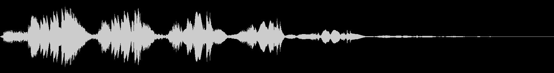ウェットスワイプエコーの未再生の波形