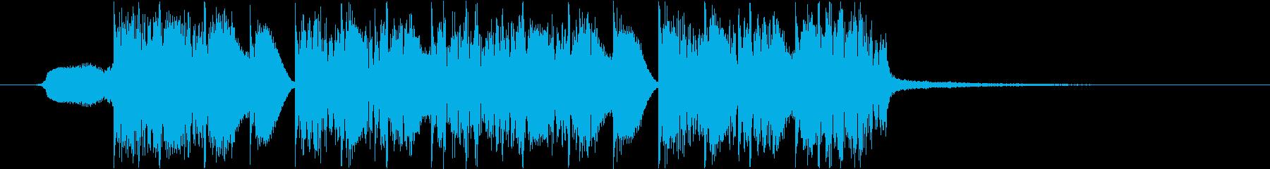 エネルギッシュ、ロゴ、ジングルの再生済みの波形