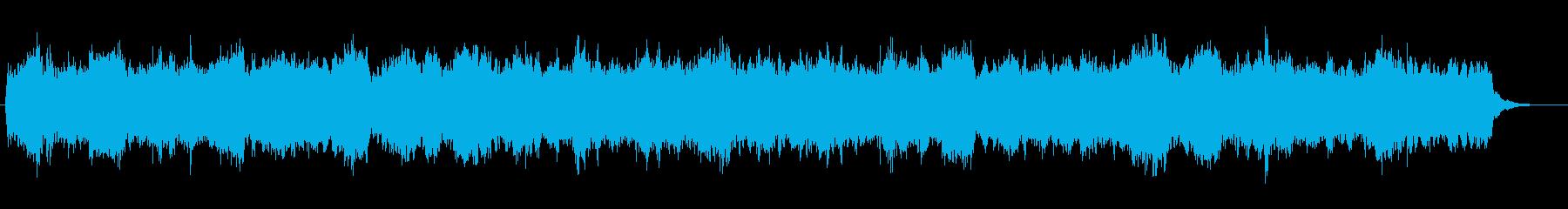 「きよしこの夜」クラシックオーケストラの再生済みの波形