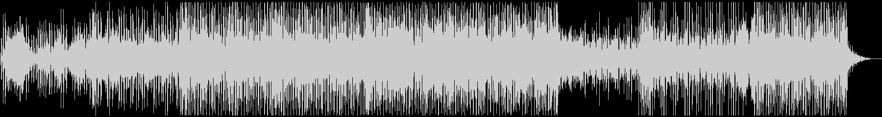 トロピカルハウス風 EDMの未再生の波形