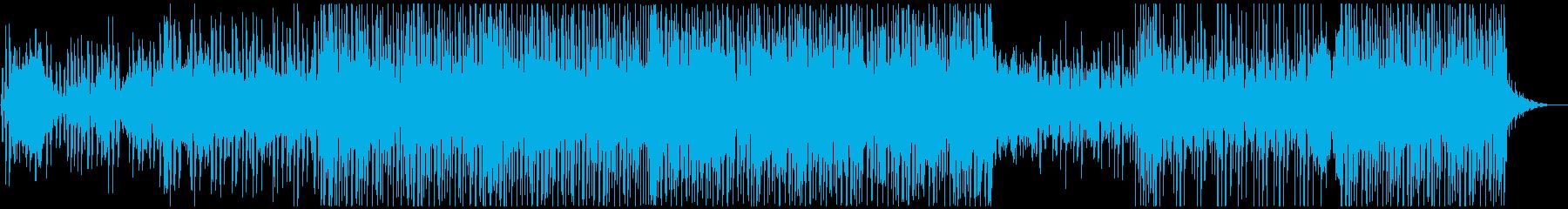 トロピカルハウス風 EDMの再生済みの波形