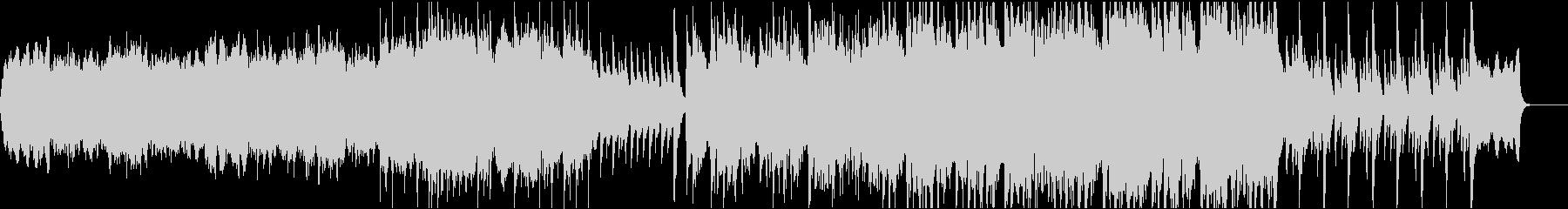 和楽器を使ったオケ曲の未再生の波形