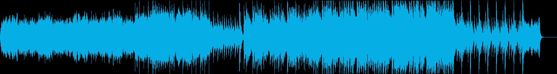和楽器を使ったオケ曲の再生済みの波形