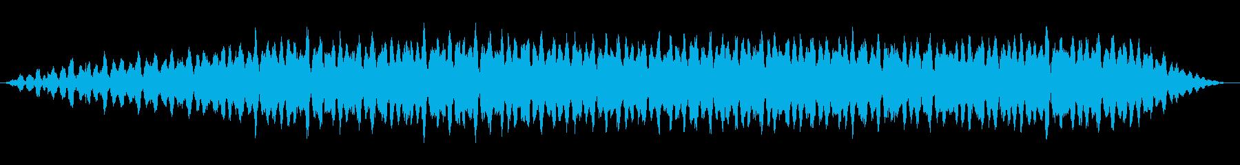 エネルギー溜め(ワンワンワンワン)の再生済みの波形