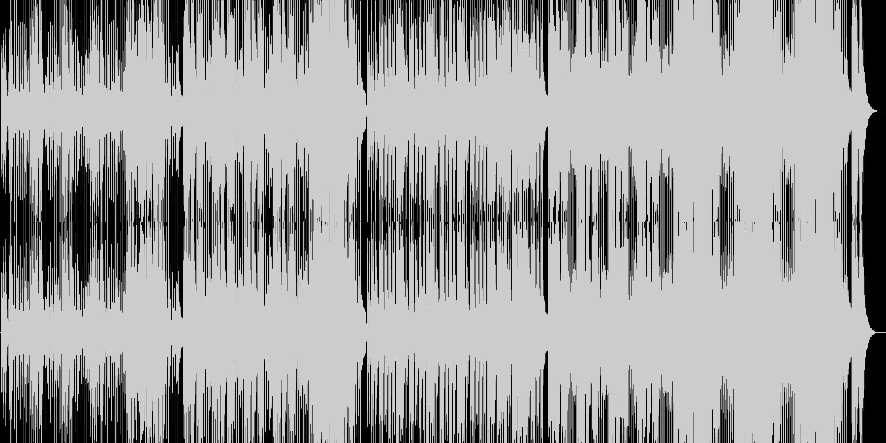 ビッグホーン、ラテン系のリズム、伝...の未再生の波形