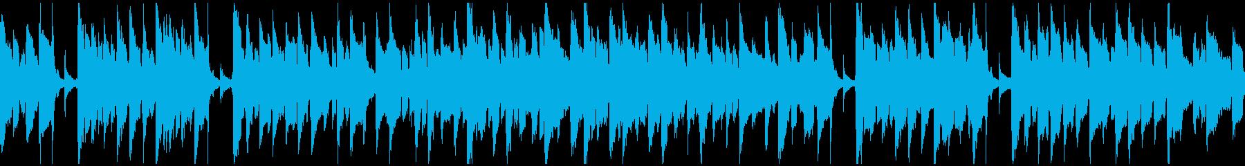 脱力リコーダー、ぐうたら、怠惰※ループ版の再生済みの波形